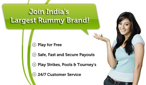 Play Rummy Games 24×7 at Taj Rummy - Just One More Game Will Do! | Rummy Games | Scoop.it