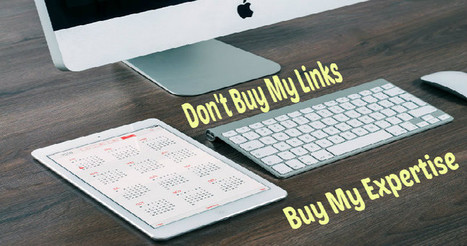 Don't Buy My Links, Buy My Expertise - Search Engine Journal | Content Strategy |Brand Development |Organic SEO | Scoop.it