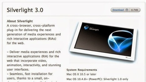 Install Microsoft Sliverlight Plugin on Safari For MAC | Latest Android and Iphone PC Downloads | Scoop.it