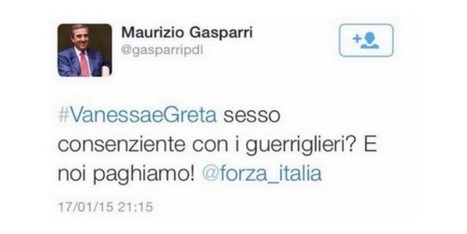 #GasparriFuoriDaTwitter, la protesta corre su Twitter | InTime - Social Media Magazine | Scoop.it