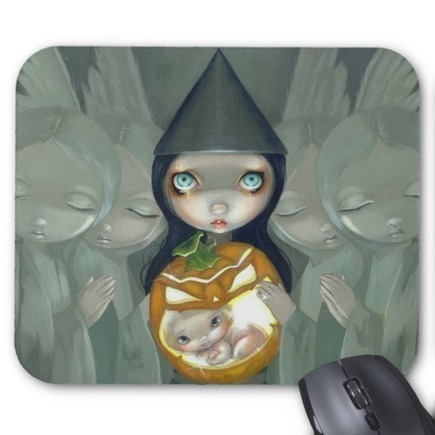 """Born of a Pumpkin"" Mousepad 