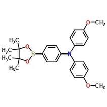 4-Methoxy-N-(4-methoxyphenyl)-N-(4-(4,4,5,5-tetramethyl-1,3,2-dioxaborolan-2-yl)phenyl)aniline CAS 875667-84-8   chemistry   Scoop.it