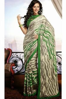 Designer Sarees Images: Chiffon Saree Fashions | www.jaipurkurti.com | Scoop.it