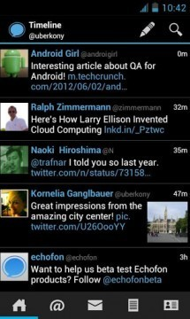 Echofon for Android now available in Google Play Store | Anything Mobile | Scoop.it