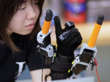 A Better Hand: Multitasking Like Never Before With These Robotic Fingers   Amazing Science   Scoop.it