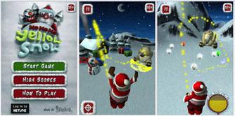 Matmi New Media Ltd presents Ho Ho Ho! Yellow Snow! | Online Web Games | Scoop.it