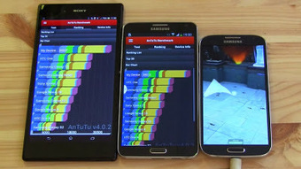 Samsung GALAXY Note 3 Octa vs. Sony Xperia Z Ultra vs. Samsung GALAXY S4 Octa [Video] | Mobile Technology | Scoop.it