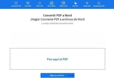 SmallPdf la solución gratis en línea a tus problemas con ficheros PDF   Aprendiendoaenseñar   Scoop.it