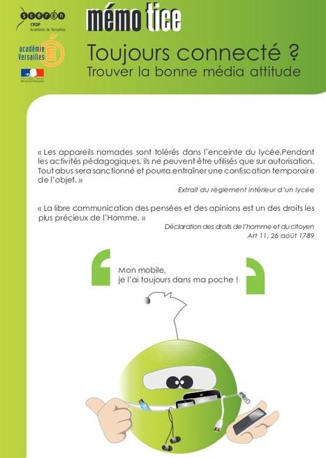 Toujours connecté : Les smartphones | TICE, Web 2.0, logiciels libres | Scoop.it