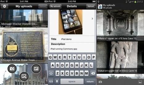 Wikimedia Commons para iOS y Android facilita subir fotos a wikipedia | Pedalogica: educación y TIC | Scoop.it
