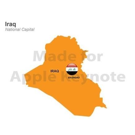 Map of Iraq for iPad Keynote Presentation | Apple Keynote Slides For Sale | Scoop.it