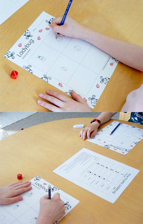 » DIY Ladybug Dice Game | Educational Games and Toys | Scoop.it