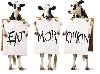 The Chick-fil-A Cow Campaign | FAVORITES | Scoop.it