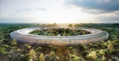 Apple's 'spaceship' headquarters blasts off in 2016 | MarketingHits | Scoop.it
