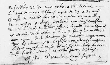 Bonheur mortuaire à Échiré | Généalogie | Scoop.it