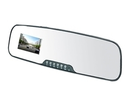 Embedded Rearview Mirror Dash Camera | Auto Gadgets | Scoop.it