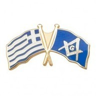 Greece Crossed Flag Badge | Masonic Gifts | Scoop.it
