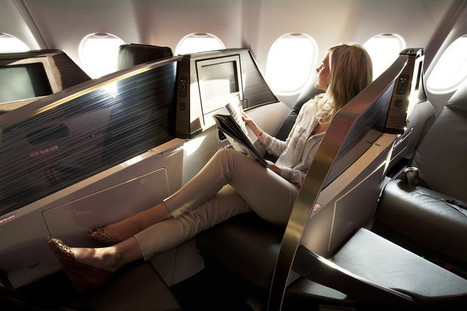 4 Ways to Save Big on Flying Business Class - Wall Street Journal | frequent fliers | Scoop.it