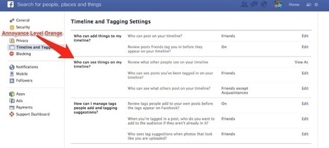 Facebook: 5 Levels of Annoyance | ~Sharing is Caring~ | Scoop.it