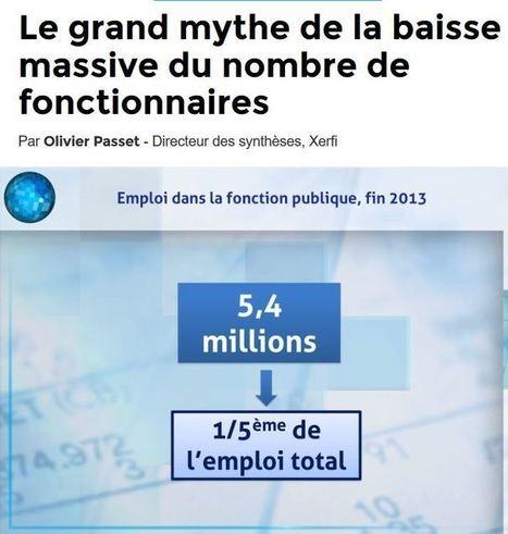 Le grand mythe de la baisse massive du nombre de fonctionnaires - justpaste.it | Pierre Ratcliffe | Scoop.it