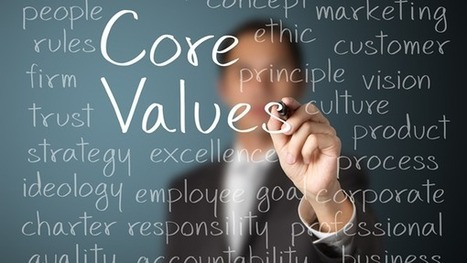 Do You Truly Practice Your Core Values? | Leadership | Scoop.it