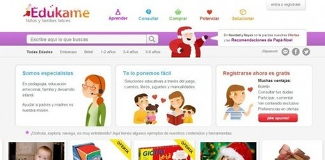 Edukame, proyecto sobre educación infantil, estrena diseño.- | Gestores del Conocimiento | Scoop.it