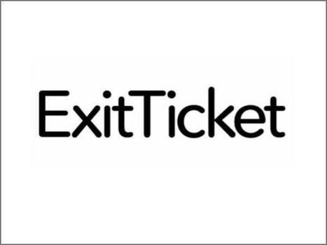 ExitTicket review ~ New Learning Times | Into the Driver's Seat | Scoop.it
