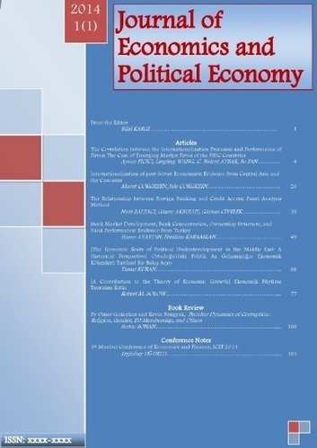 "Journal of Economics and Political Economy | ""EE"" 