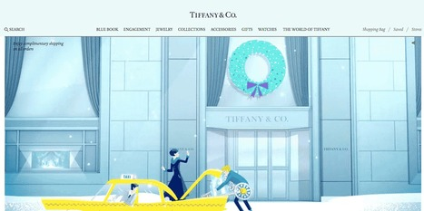 Holiday Web Design KUDOS To Tiffany & Co. For Setting New Standard in Web Design | Ecom Revolution | Scoop.it