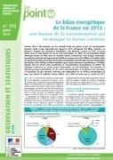 Le bilan énergétique de la France en 2013 : une... | Environnement et DD | Scoop.it