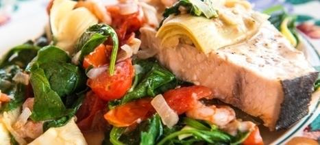 ΞΙΦΙΑΣ ΚΑΤΕΨΥΓΜΕΝΟΣ ΜΕ ΣΠΑΝΑΚΙ - Μια ωραία συνταγή | Greek traditional recipes | Scoop.it