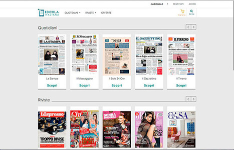 Ecco Edicola Italiana, il chiosco digitale | InTime - Social Media Magazine | Scoop.it