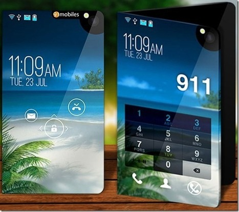 Concept of a smartphone and a tablet computer Future technology | Mash Up Blog's Kitchen | Scoop.it