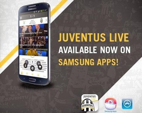 Juventus Live ora disponibile su Samsung App Store   #SocialTV and #SecondScreen   Scoop.it