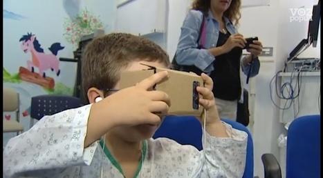 La realidad virtual se utiliza en niños hospitalizados   Redes Sociais e Saúde   Scoop.it