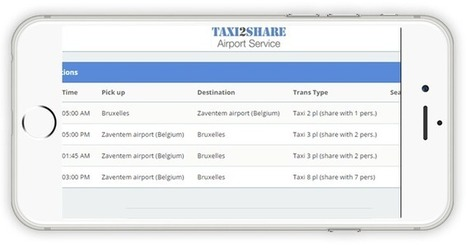 Taxi airport Zaventem App | Tennis and Ski Holidays | Scoop.it