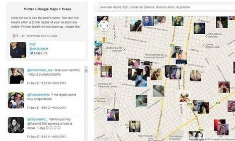 Twaps : Para ver qué se está diciendo en Twitter a tu alrededor | GeeksRoom | Innovación docente universidad | Scoop.it