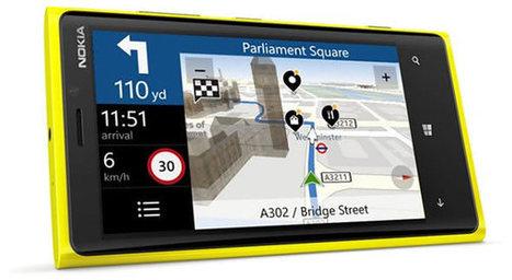 Nokia offre ses applications de navigation à tous les smartphones Windows Phone 8 | SMARTPHONES, TABLETTES & APPLICATIONS | Scoop.it