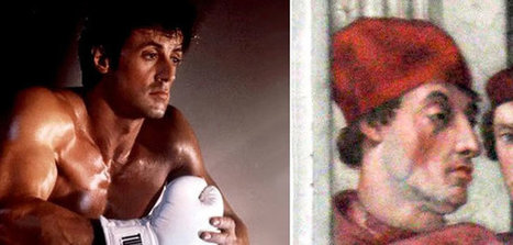 Visit Vatican City And See A Painting With Sylvester Stallone | Funny Stuff | Scoop.it