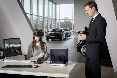 Audi veut vendre ses voitures à grand renfort de réalité virtuelle - Tech - Numerama | Fluidifier son parcours client crosscanal pour une expérience client positive | Scoop.it