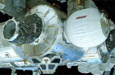 NASA is about to inflate the space station's first-ever expandable room | MishMash | Scoop.it