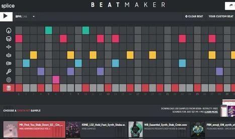 Beat Maker: crea tus propios ritmos desde la web | ARTE, ARTISTAS E INNOVACIÓN TECNOLÓGICA | Scoop.it