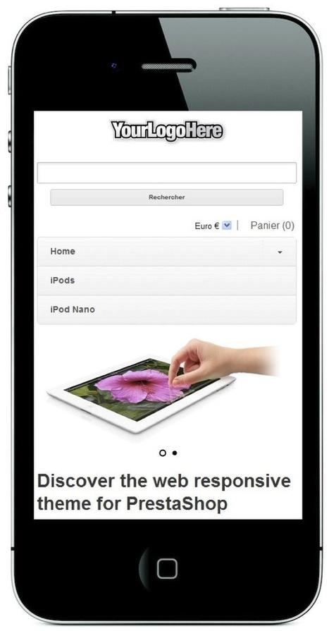 Prestashop – Template Responsive | BLOG E-COMMERCE de François Ziserman, Consultant e-commerce | super theme de base prestashop 1.5 | Scoop.it