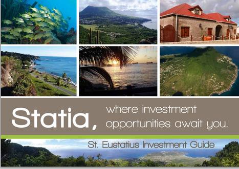 Sint Eustatius - Investment plan | Innovation for islands growth. L'innovation, croissance des îles | Scoop.it