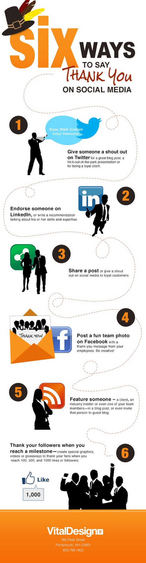 6 Ways To Say Thank You On Social Media [Infographic] | The Twinkie Awards | Scoop.it
