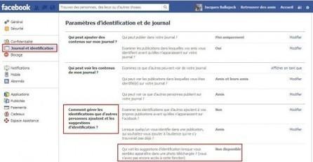 Désactiver sur Facebook l'identification sur les photos | Actu Web, Réseaux sociaux et e-marketing | Scoop.it