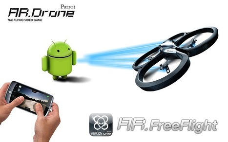 The Parrot AR.Drone – Augmented Reality at its Finest! | Augmented Reality News and Trends | Scoop.it
