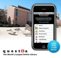 Innovative Educational Apps: Questia | Learning With Social Media Tools & Mobile | Scoop.it