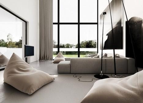 Clean Modern Decor - Home Designing | Apartment Decorating | Scoop.it