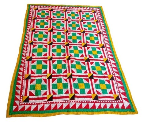 Patchwork Ralli Quilt – Beautiful Sindhi Colours | Ralli Quilts | Scoop.it